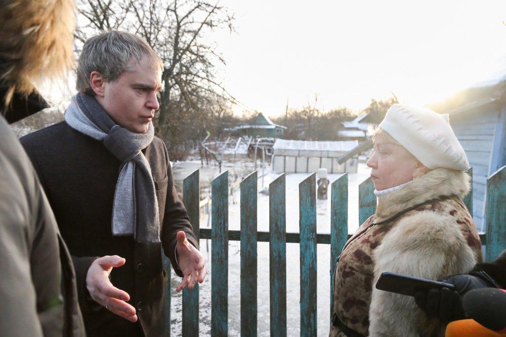 Жителям затопленных из-за прорыва коллектора садов в Ленинском районе помогут отстоять свои интересы