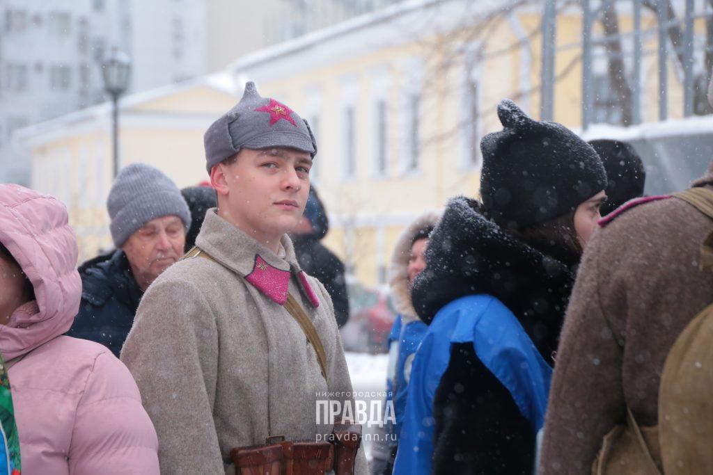 граффити нижегородский кремль волонтёры победы 75-летие
