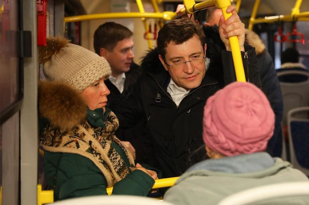 Глеб Никитин взял под личный контроль работу общественного транспорта в Нижнем Новгороде