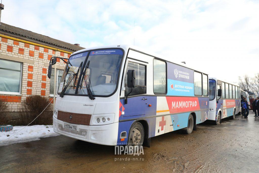 «Поезда здоровья» посетили более 290 населенных пунктов Нижегородской области