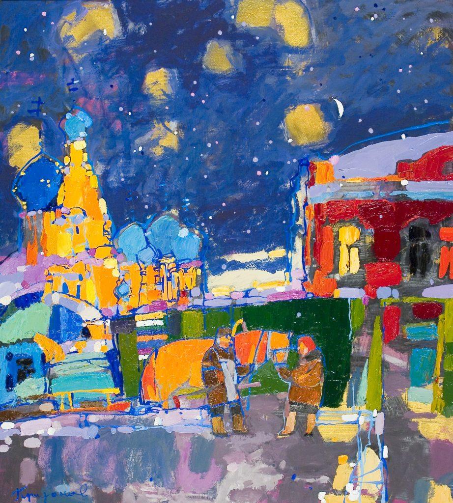 Выставка произведений Максима Приданова и Наталии Панковой «Два художника» откроется в Нижегородском выставочном комплексе 6+