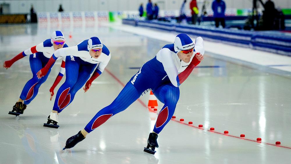 Глеб Никитин поздравил нижегородских призёров Чемпионата Европы по конькобежному спорту