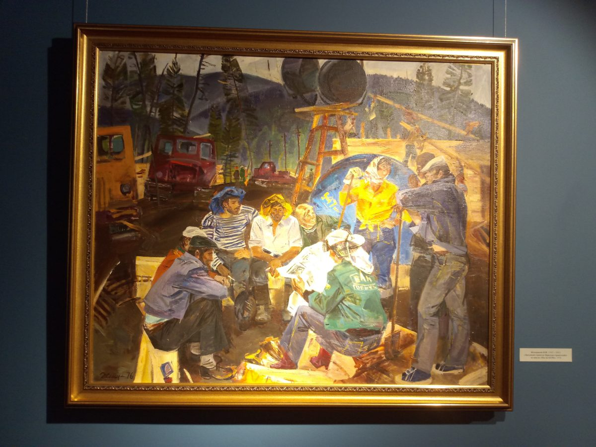 выставка советской живописи
