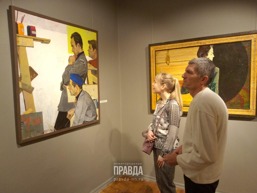 В Нижегородском художественном музее представили лучшие образцы советской живописи