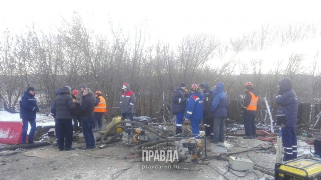 В течение 30 минут начнется подача: аварию на коллекторе в Ленинском районе устранили