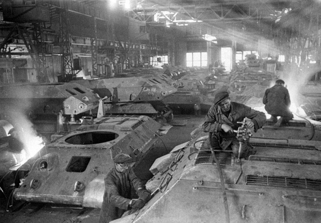 Красное Сормово танк