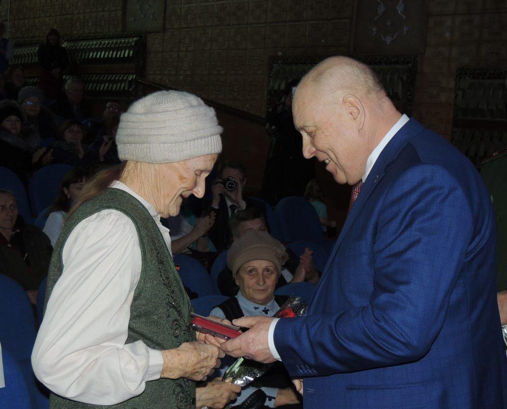 В Починковском районе прошло вручение медалей ветеранам войны и труженикам тыла