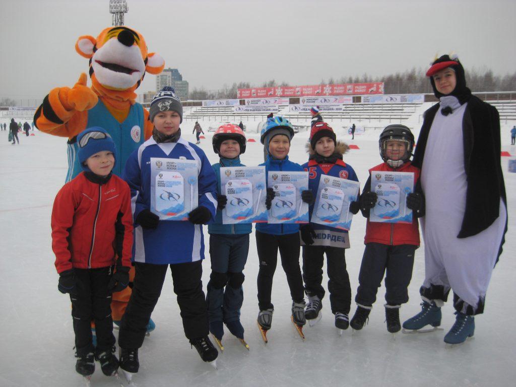 Победа в лёд одета: соревнования по конькобежному спорту прошли в Нижнем Новгороде