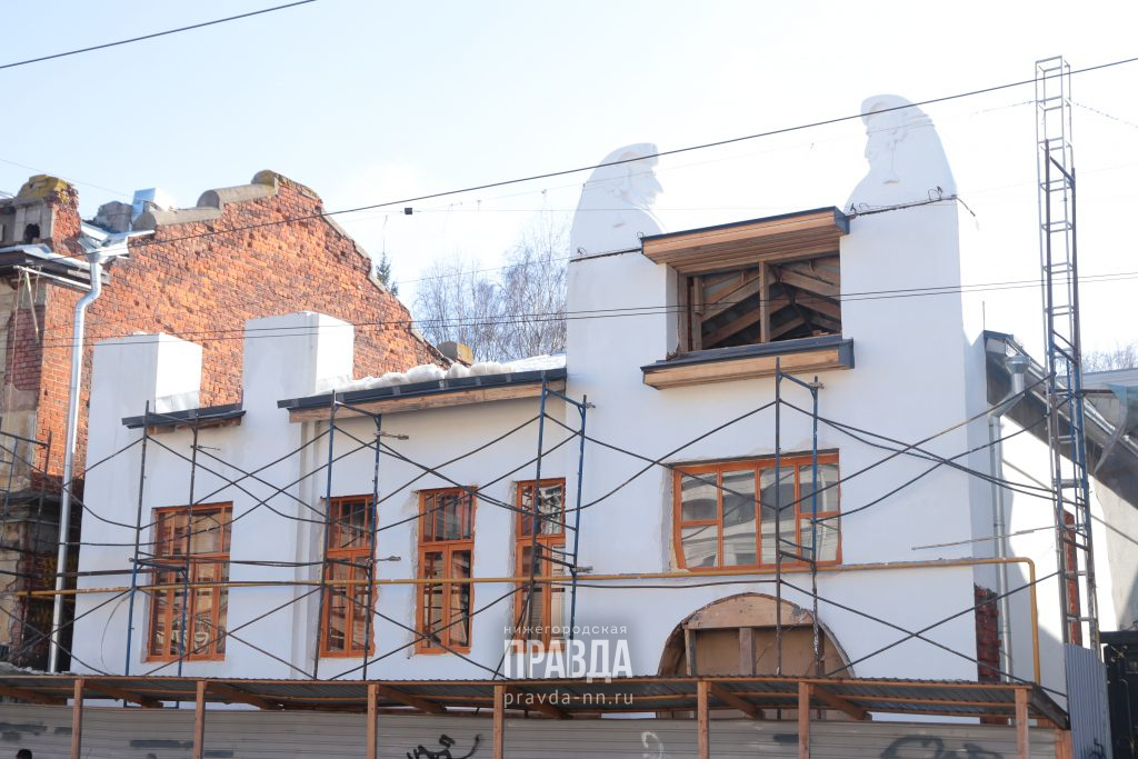 Фасад «Шахматного дома» в Нижнем Новгороде восстановят к августу 2021 года
