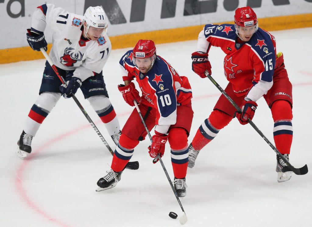 ХК «Торпедо» уступил в Москве действующему обладателю Кубка Гагарина