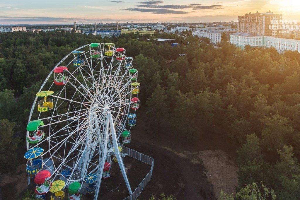 «Колесо обозрения» продают за 7,5 млн рублей в Дзержинске