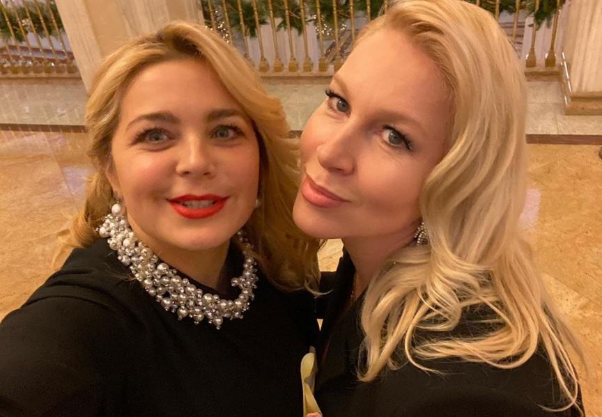 Екатерина Одинцова и Ирина Пегова передали привет Нижегородской земле