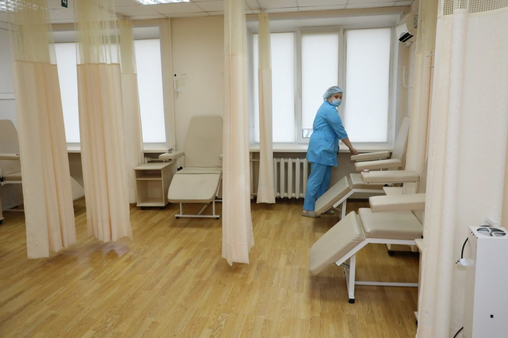 Капитальный ремонт завершен внижегородской городской поликлинике № 4