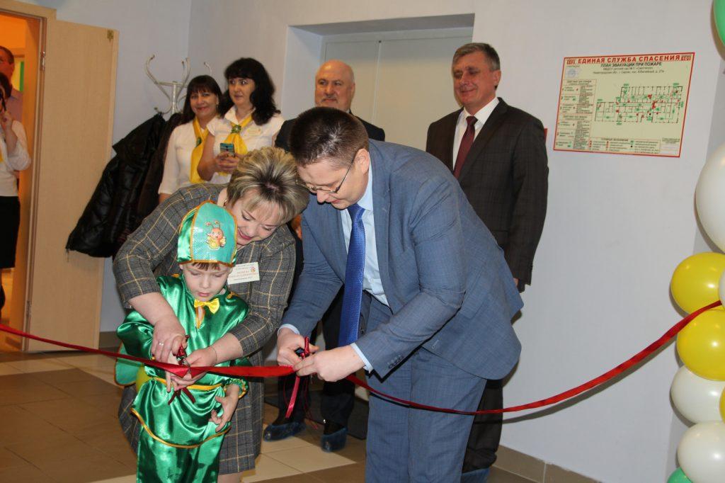 Новый корпус детского сада «Светлячок» открылся вСергаче понацпроекту «Демография»