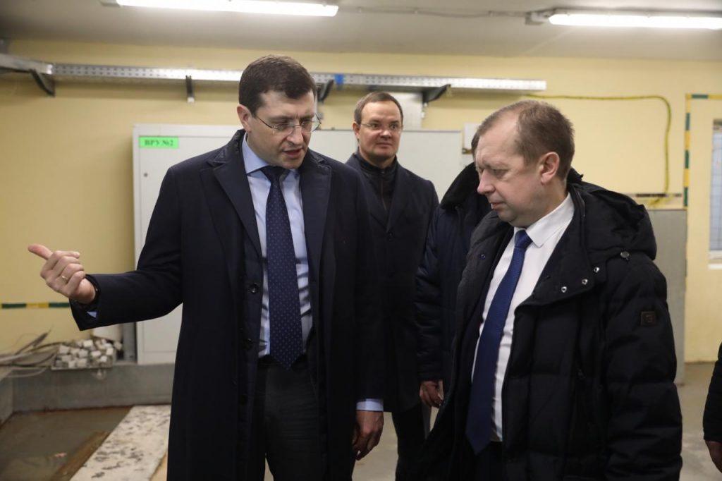Глеб Никитин поручил устранить протечки вподвале школы впосёлке Гидроторф