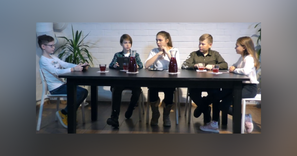 Нижегородские школьники на «Морсе» предложили уменьшить налоги для матерей (ВИДЕО)