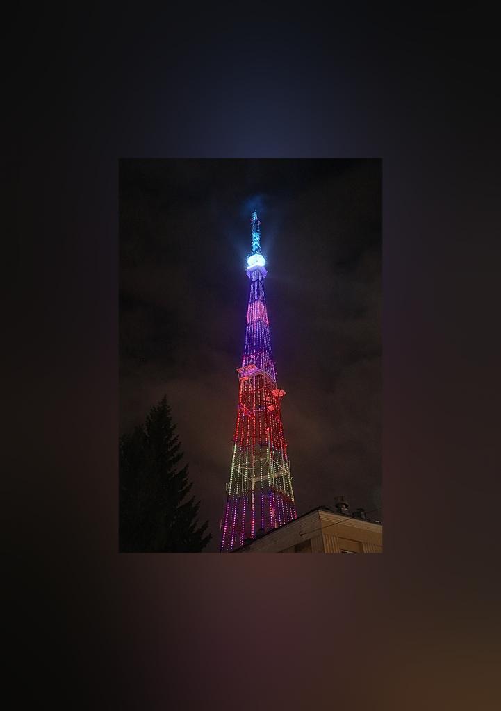 Подсветка нижегородской телебашни удивила гостей изЯпонии