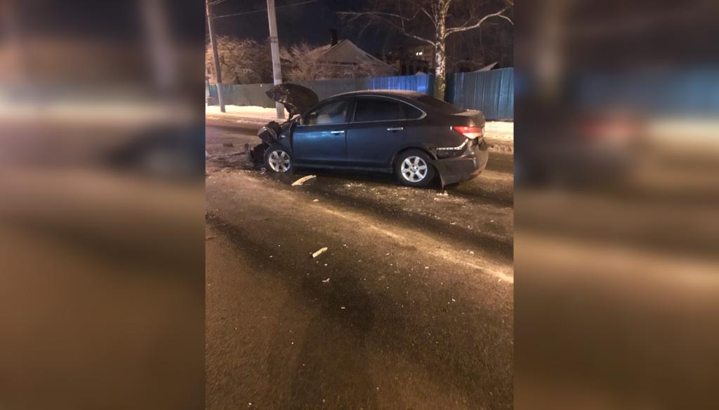 Лобовое ДТП с участием полицейского произошло в Нижнем Новгороде