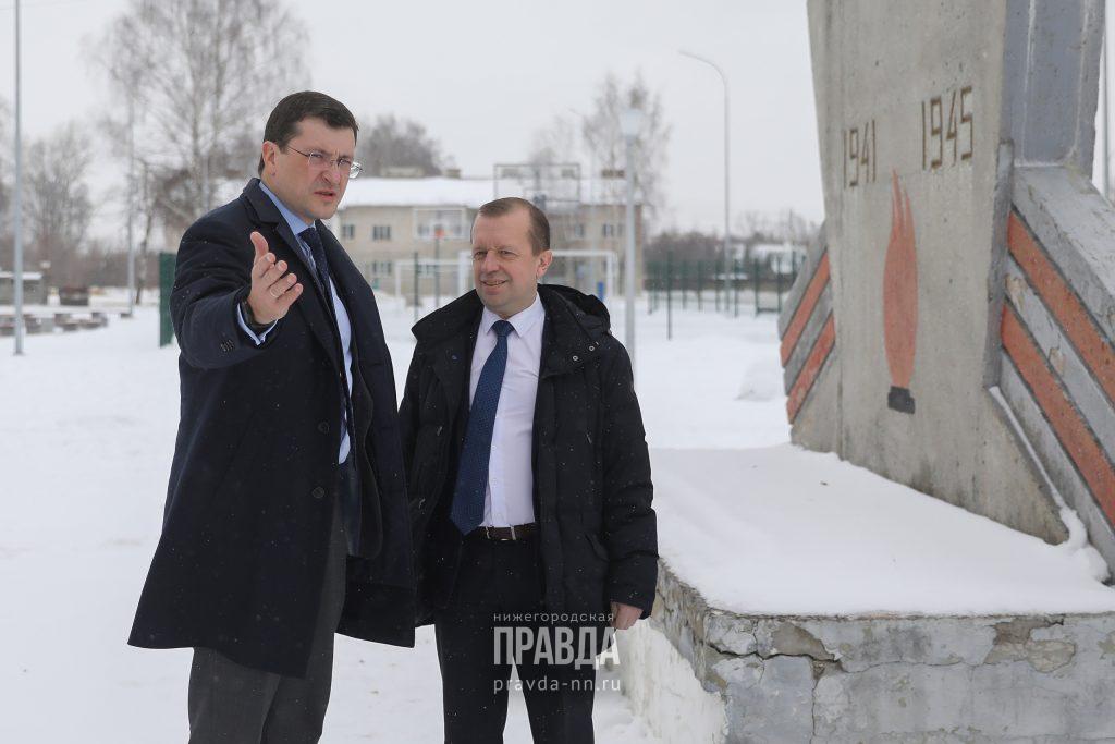Глава Балахнинского района Алексей Левкович покидает свой пост после визита Глеба Никитина