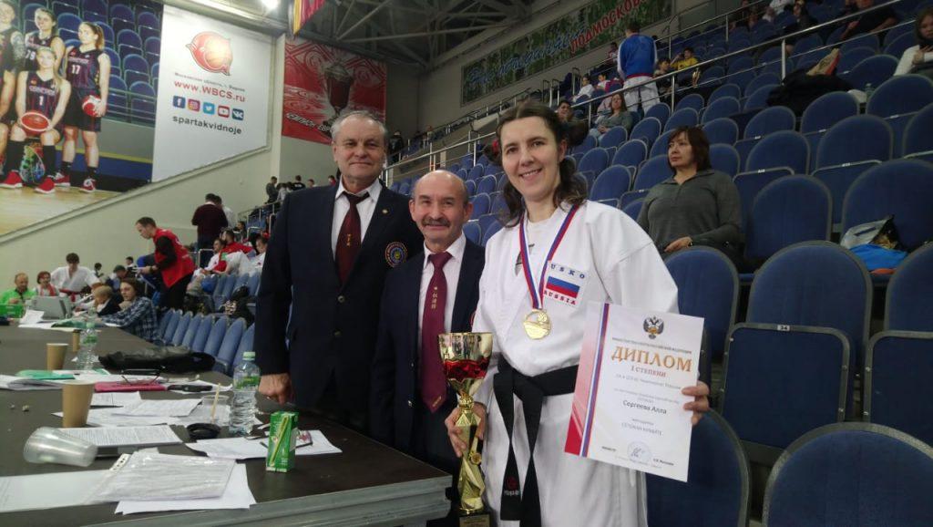 Нижегородская спортсменка выиграла Чемпионат России по восточному боевому единоборству