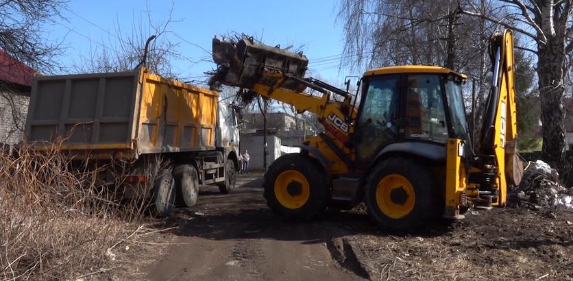Незаконную свалку ликвидировали в Нижнем Новгороде