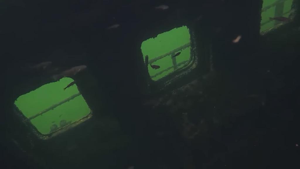 В озере под Дзержинском нашли затонувший «Титаник»