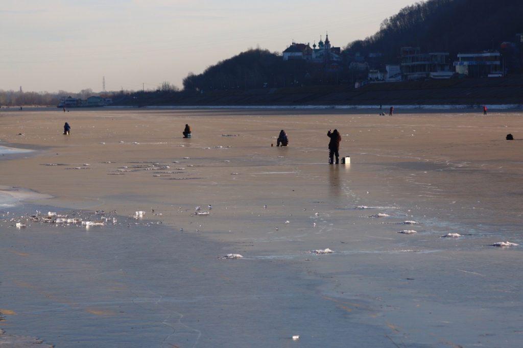 Вскрытие льда на Оке ожидается в период с 8 по 16 апреля
