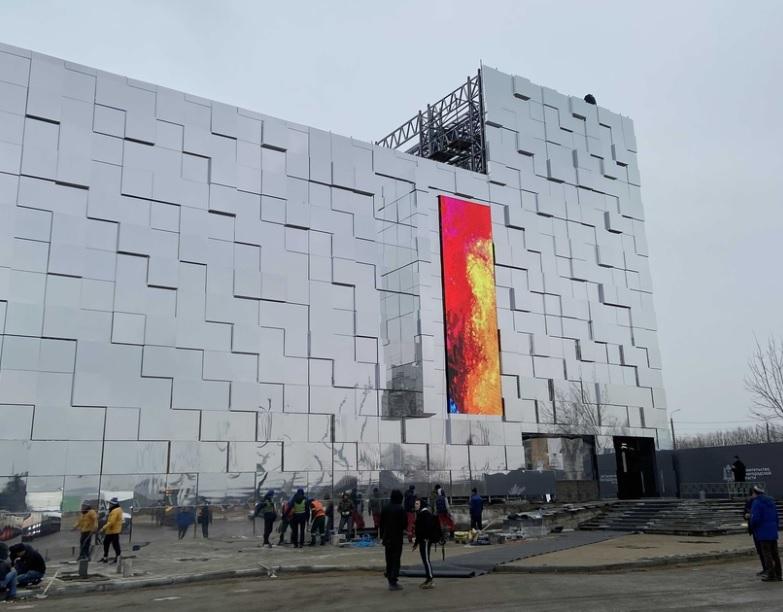 Павильон Нижегородской ярмарки стал «космическим»