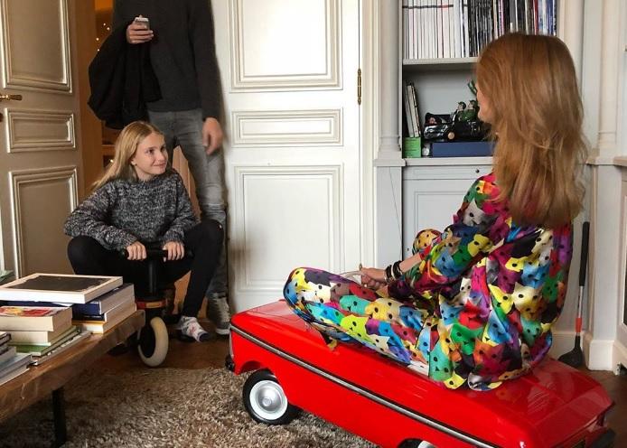 Наталья Водянова трогательно поздравила дочь с днём рождения