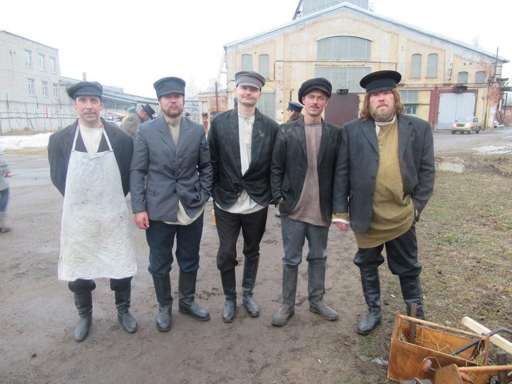Сотрудники завода «Красное Сормово» снялись в сериале по рассказам «Хроники сыска»