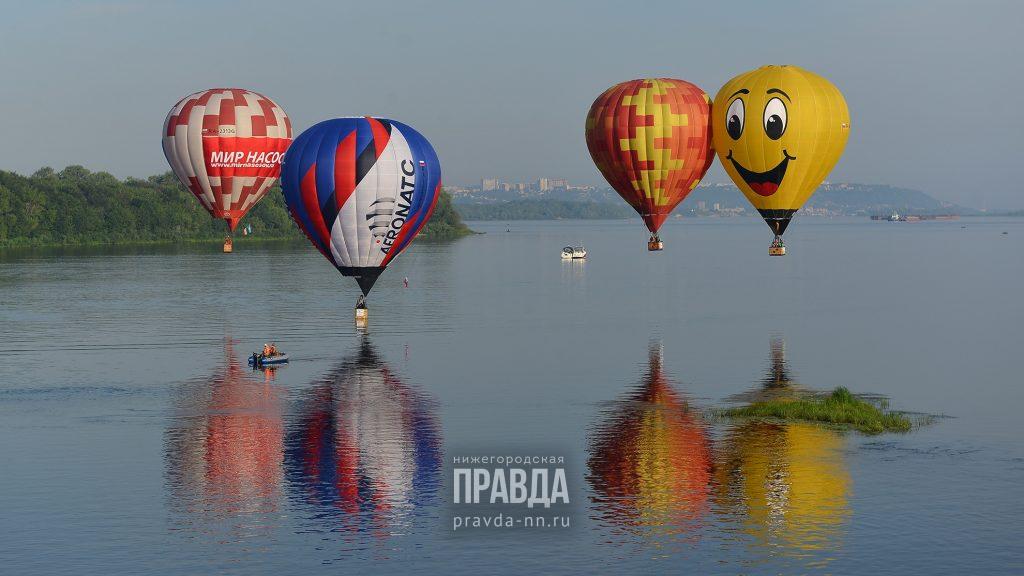 Аэростаты появятся в небе над Нижним Новгородом в августе