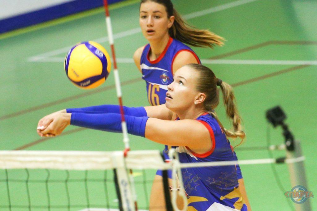 Волейболистки из нижегородской «Спарты» продолжат серию выездных игр