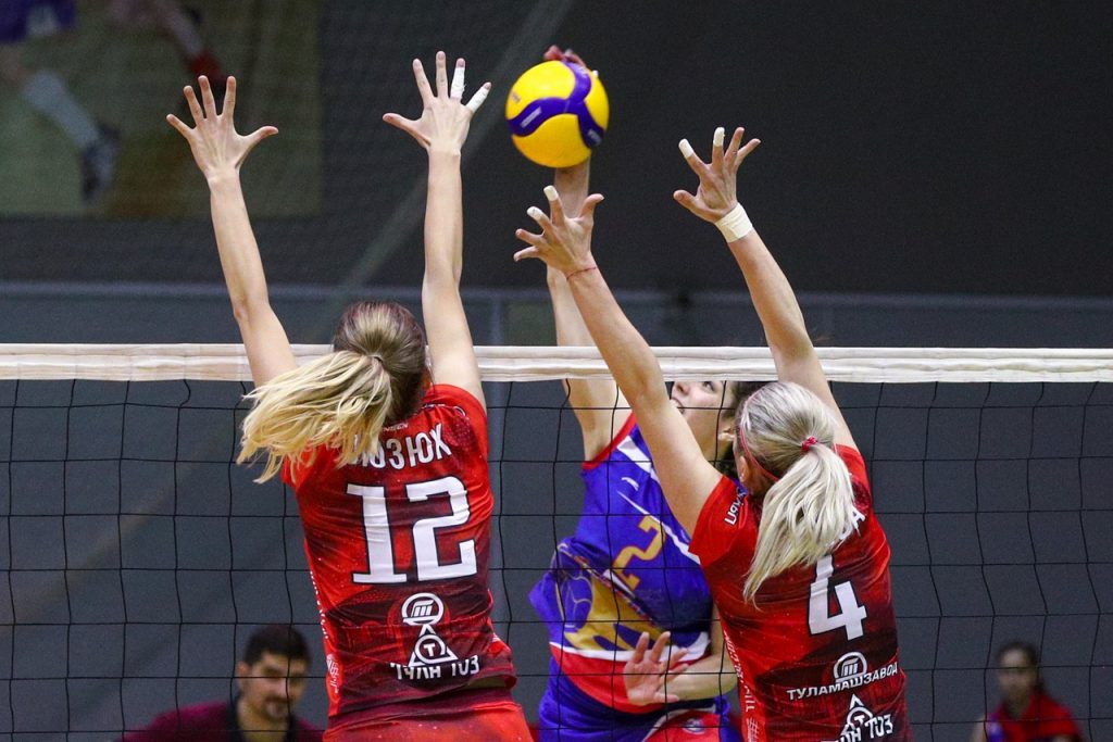 Волейболистки нижегородской «Спарты» не смогли пробиться в финал