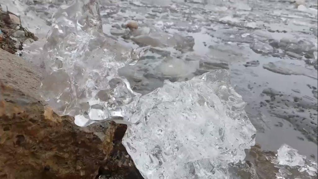 Лед тронулся на Оке