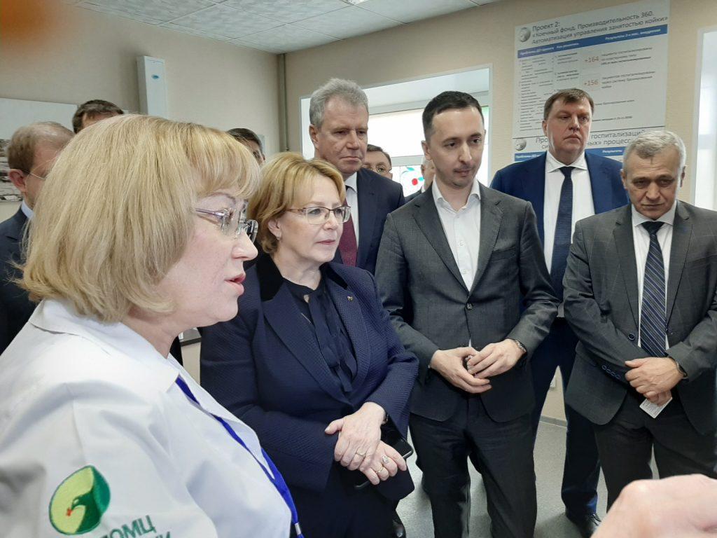 Вероника Скворцова посетила срабочим визитом Нижегородскую область