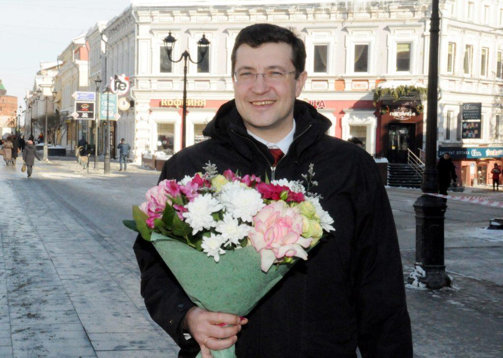 Поздравление губернатора Нижегородской области Глеба Никитина сМеждународным женским днём