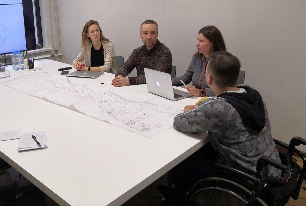 ВПроектном офисе обсудили инфраструктуру безбарьерной среды впарке Швейцария