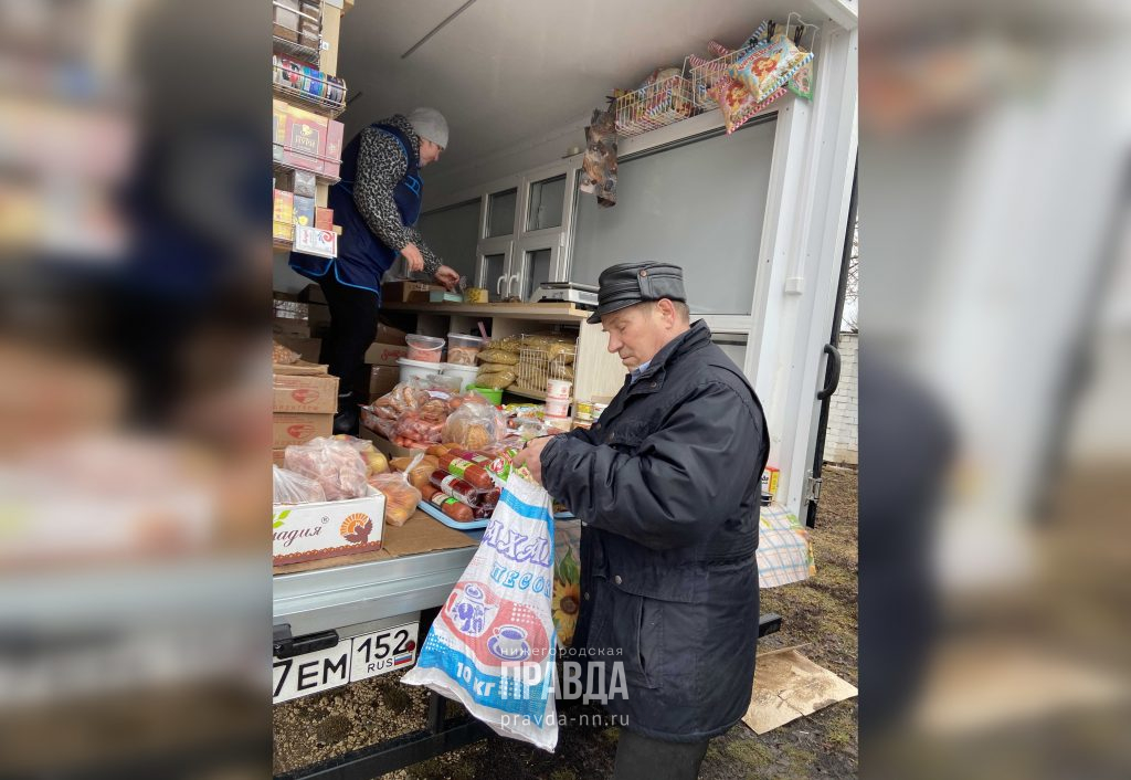 Магазин приехал: корреспондент «Нижегородской правды» объездил с автолавкой отдалённые деревни