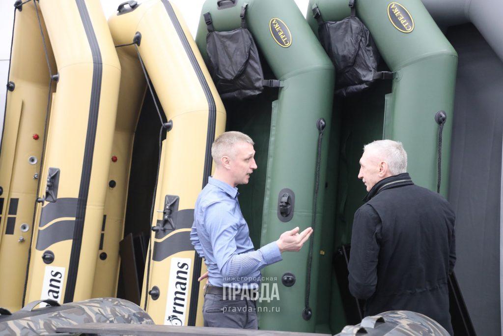 Нижний Новгород вошел в ТОП-10 городов России по популярности покупок водного транспорта