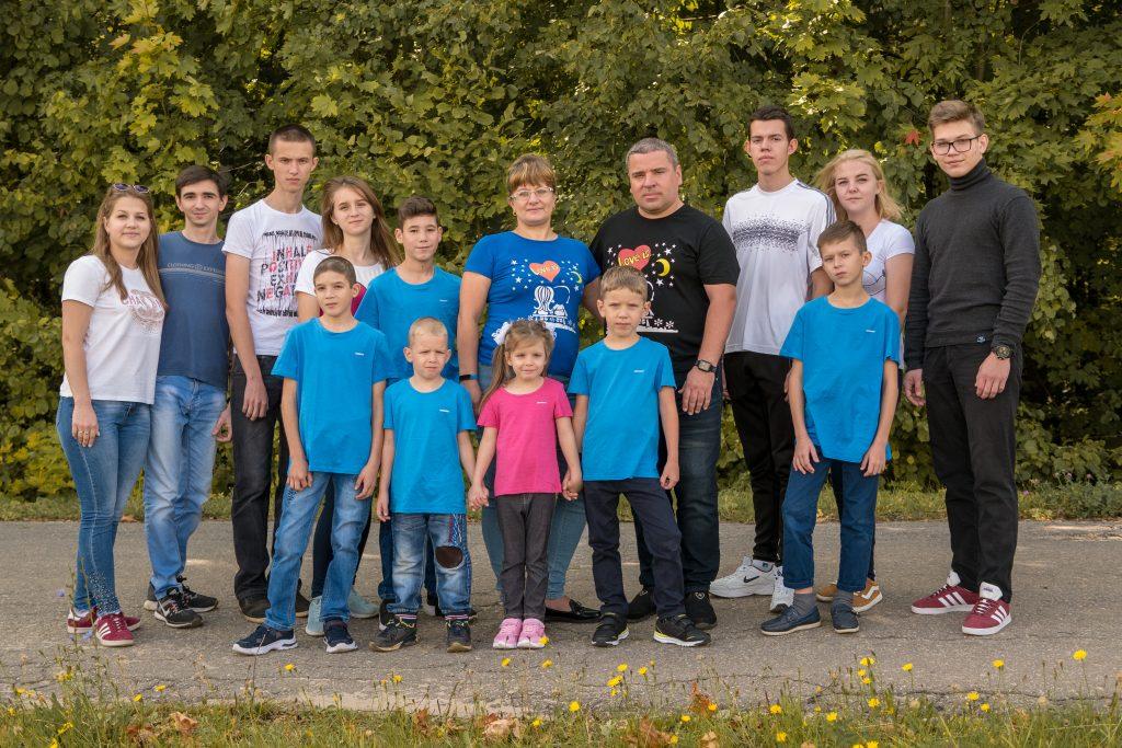 Нижегородская семья рассказала, как переживают самоизоляцию 10 детей, две кошки, собака и попугайчик