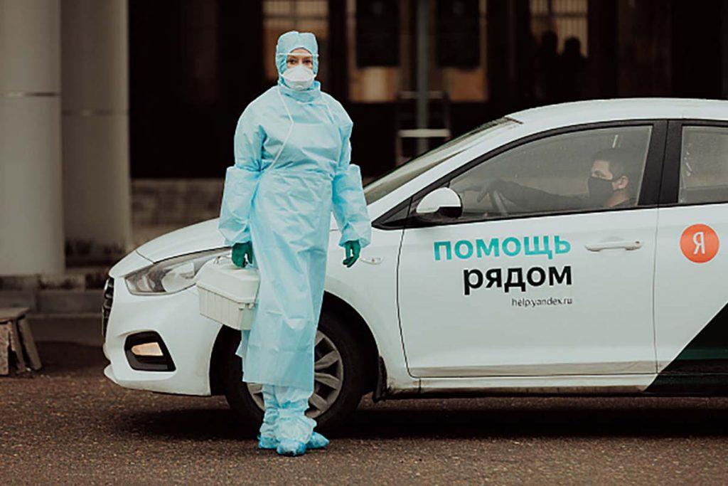 Нижегородские таксисты стали бесплатно возить врачей
