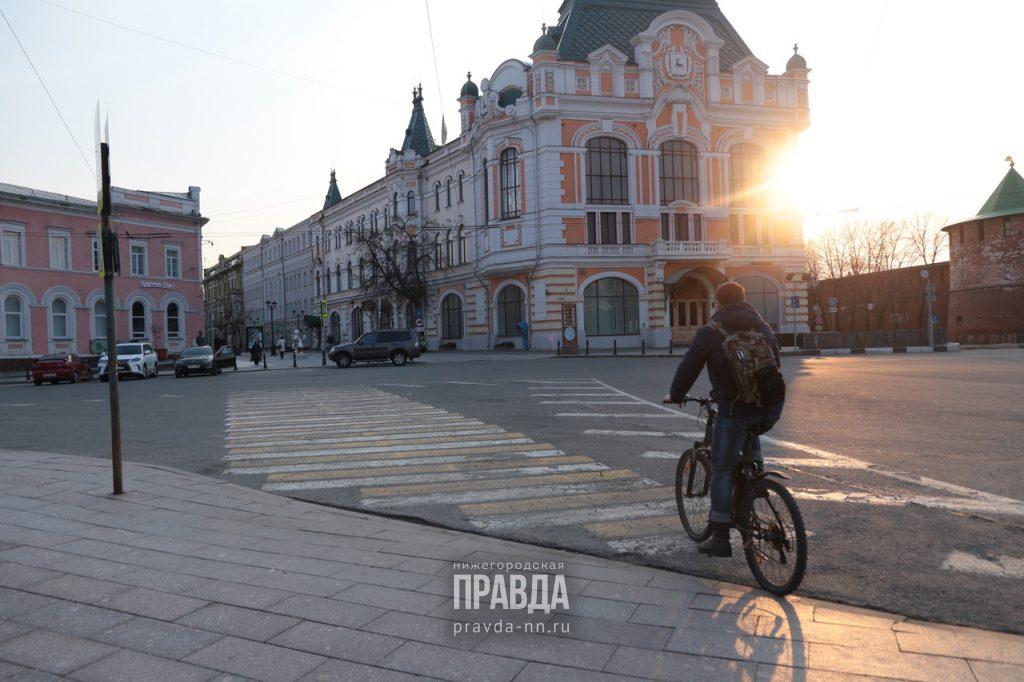 Уровень самоизоляции в Нижнем Новгороде вырос на 1,4 балла с начала марта