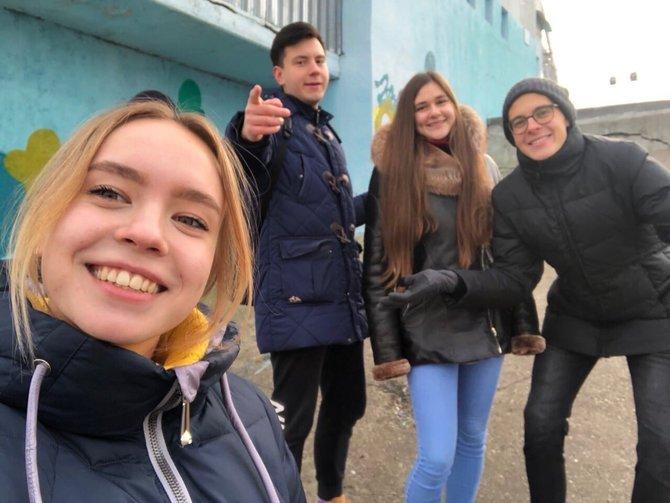 Видео дня: Нижегородские студенты планируют создать новый стрит-арт объект на плитах Гребного канала