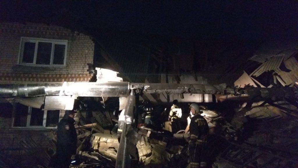 В Вачском районе обрушился дом из-за хлопка газа