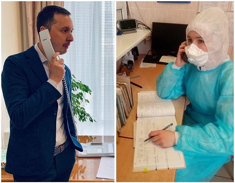 «Бороться за каждого»: Давид Мелик-Гусейнов рассказал, как живется медикам в изолированных стационарах