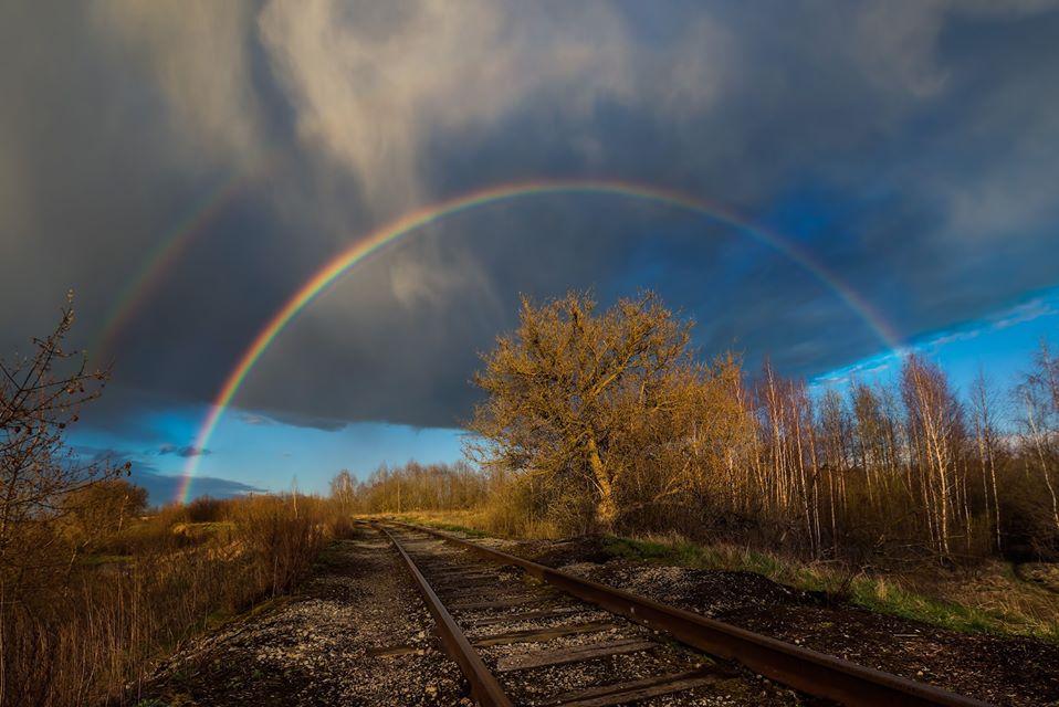 Фото дня: нижегородцы увидели в небе двойную радугу