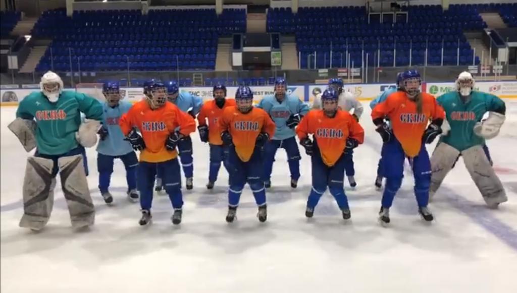 Спортсменки ЖХК «СКИФ» присоединились к UNO-челлендж