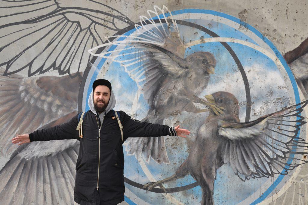 Нижегородские студенты планируют создать новый стрит-арт объект на плитах Гребного канала