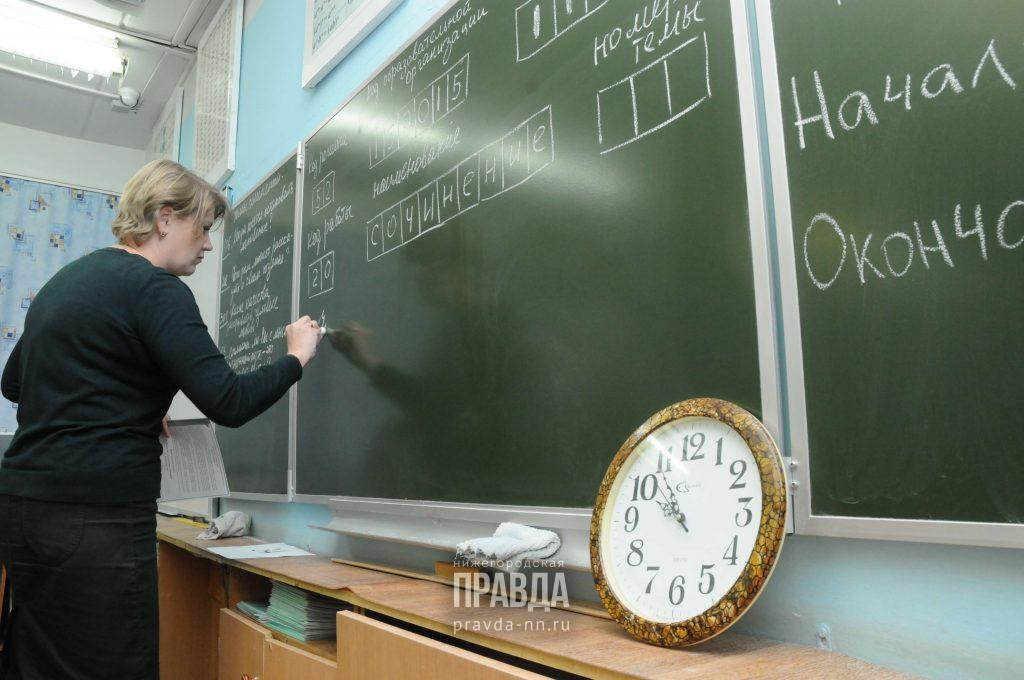ВНижегородской области пройдут пробные экзамены врамках подготовки кЕГЭ
