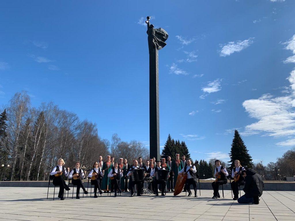 В Приволжском федеральном округе продолжается песенный марафон «Наш День Победы»